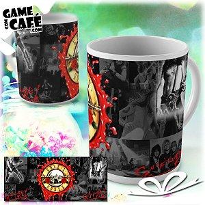 Caneca B18 Guns n Roses