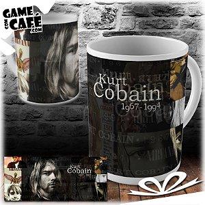 Caneca B27 Kurt Cobain
