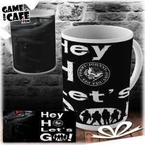 Caneca B59 Ramones - Hey Ho Lets Go