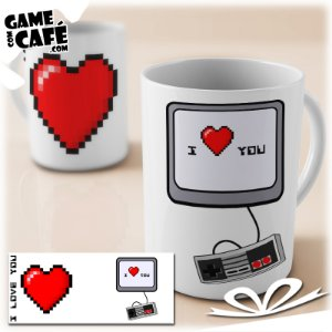 Caneca L11 I Love You (Gamer)