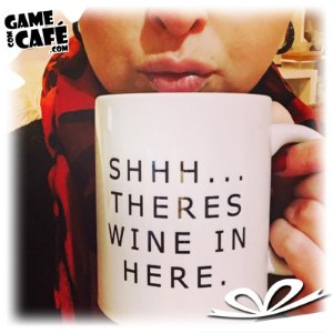 Caneca G15 Shhh There Wine in Here