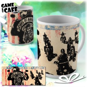 Caneca S10 Sons of Anarchy