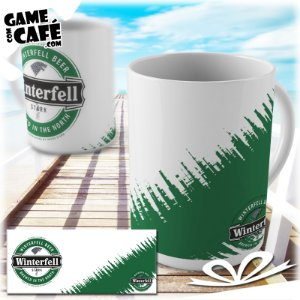 Caneca S23 Game of Thrones - Winterfell