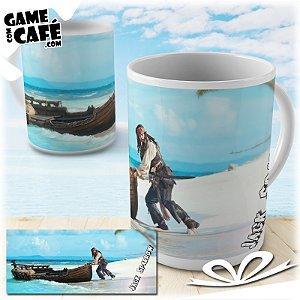 Caneca S34 Jack Sparrow - Piratas do Caribe