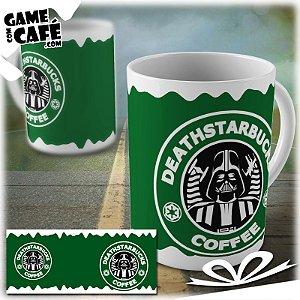 Caneca S38 Star Wars - Deathstarbucks Coffee
