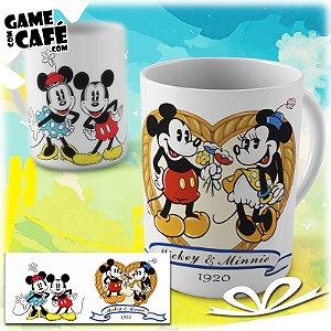 Caneca M49 Mickey e Minnie