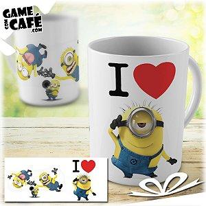 Caneca M58 I Love Minions