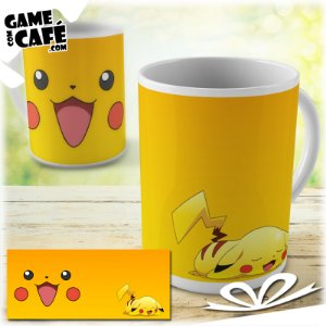 Caneca M63 Pokemon - Pikachu