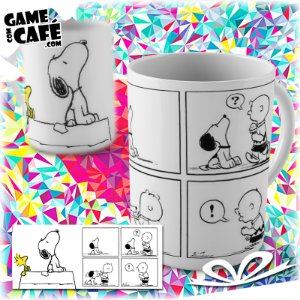 Caneca M109 Snoopy - Quadrinhos