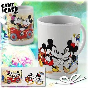 Caneca M110 Mickey e Minnie