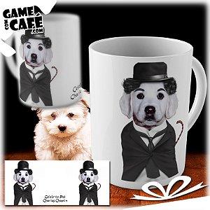 Caneca Pets P07 Celebrity Pet Charles Chaplin
