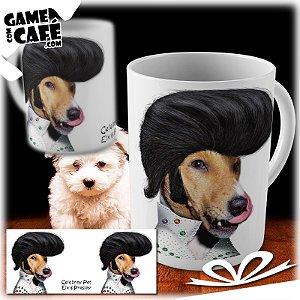 Caneca Pets P09 Celebrity Pet Elvis Presley