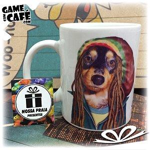 Caneca Pets P10 Celebrity Pet Bob Marley