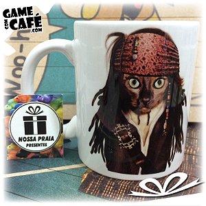 Caneca Pets P12 Celebrity Pet Jack Sparrow