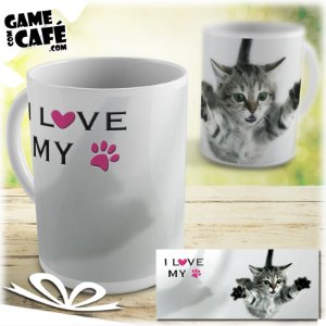 Caneca Pets P17 I Love My Pet