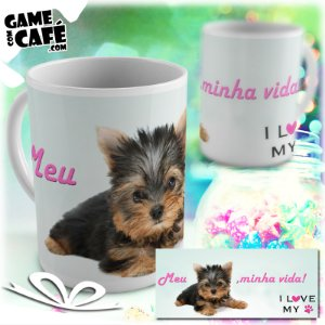 Caneca Pets P25 I Love My Yorkshire