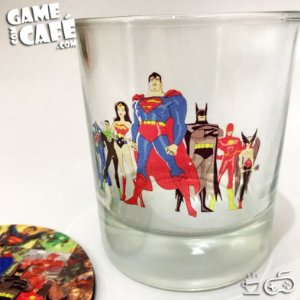 Copo de Whisky DC Comics - Liga da Justiça