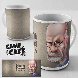 Caneca G54 Nem Freud Explica