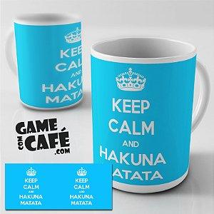 Caneca G78 Hakuna Matata