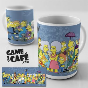 Caneca Simpsons R01