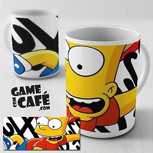 Caneca Simpsons R02 Bart