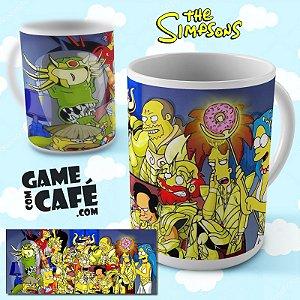 Caneca Simpsons R04 Cavaleiros do Zodíaco