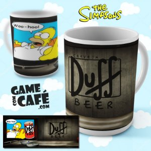 Caneca Simpsons R07 Duff Beer