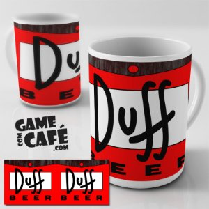Caneca Simpsons R08 Duff Beer