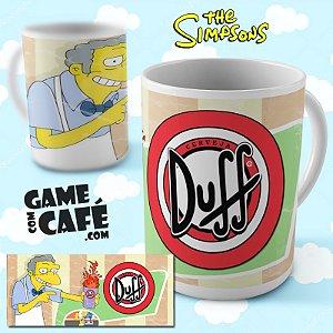 Caneca Simpsons R10 Moes - Duff Beer