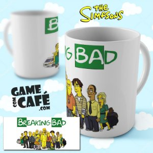 Caneca Simpsons R12 Breaking Bad