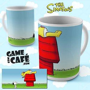 Caneca Simpsons R15 Snoopy