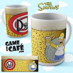 Caneca Simpsons R17 Homer Drink - Duff Beer