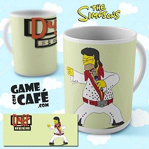 Caneca Simpsons R20 Elvis Homer