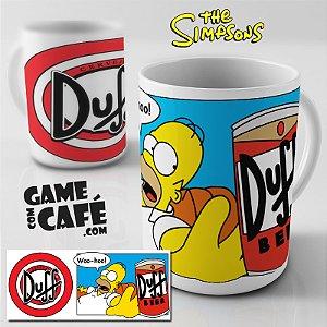 Caneca Simpsons R21 Woo-Hoo - Duff Beer