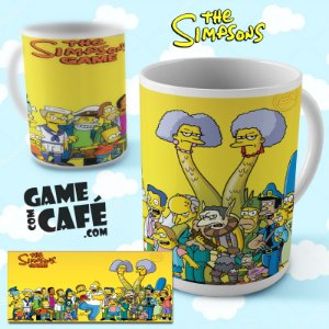 Caneca Simpsons R24 The Game