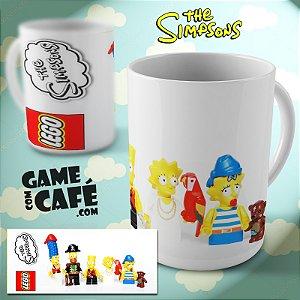 Caneca Simpsons R29 Lego