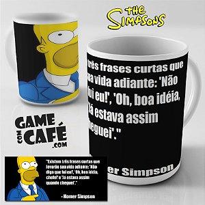 Caneca Simpsons R35 Frases Homer