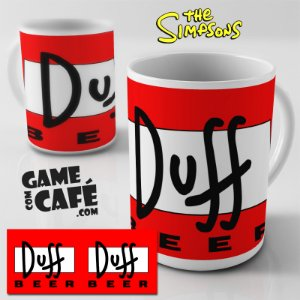 Caneca Simpsons R36 Duff Beer