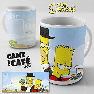 Caneca Simpsons R41 Breaking Bad