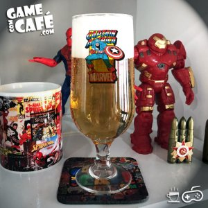 Taça de Cerveja T70 Marvel Capitão América