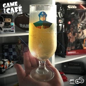 Taça de Cerveja T72 Capitão América
