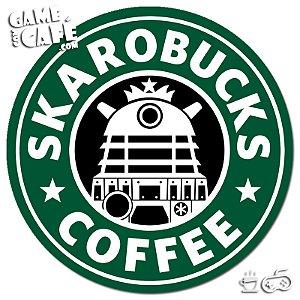 Porta-Copo W325 Dr. Who - Skarobucks Coffee