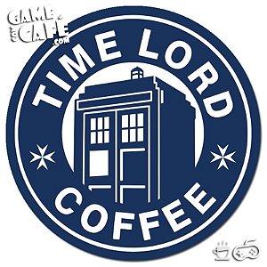 Porta-Copo W326 Dr. Who - Time Lord Coffee