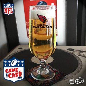Taça de Cerveja NFL T100 Arizona Cardinals