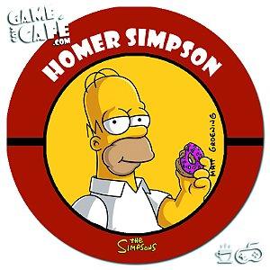 Porta-Copo Retro dos Simpsons S87 Homer Simpson