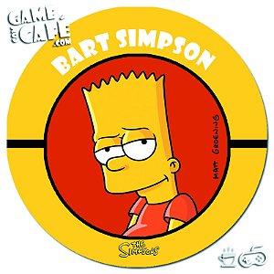 Porta-Copo Retro dos Simpsons S89 Bart Simpson