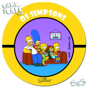 Porta-Copo Retro dos Simpsons S92 Os Simpsons
