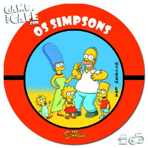 Porta-Copo Retro dos Simpsons S93 Os Simpsons
