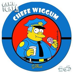 Porta-Copo Retro dos Simpsons S99 Chefe Wiggum