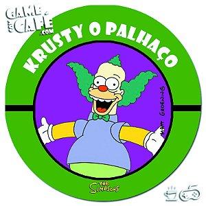 Porta-Copo Retro dos Simpsons S102 Krusty o Palhaço